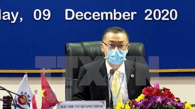 Centro de Accion contra las Minas de la ASEAN valora iniciativa de Vietnam hinh anh 1