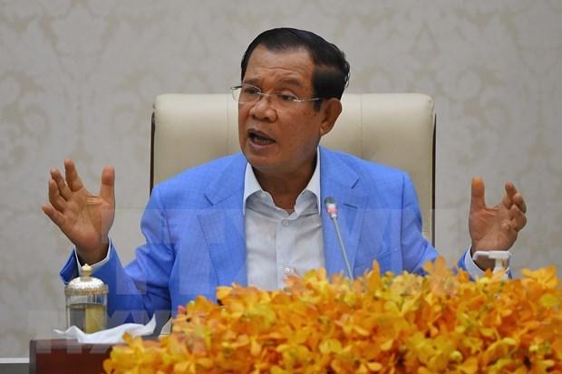 Premier camboyano aprecia eficiencia en integracion entre paises de CLMV hinh anh 1