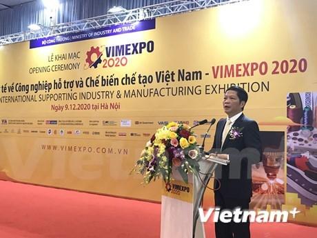 Inauguran Exposicion Internacional de industria auxiliar y manufacturera de Vietnam hinh anh 1