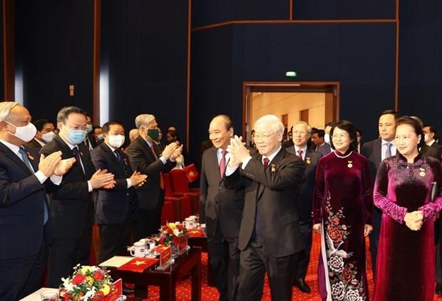 Inauguran X Congreso Nacional de Emulacion Patriotica de Vietnam hinh anh 1