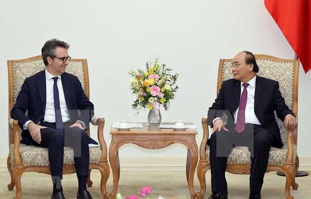 Premier vietnamita califica de estrategica la relacion con Union Europea hinh anh 1