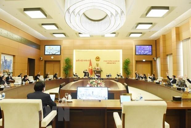 Parlamento de Vietnam debate preparativos para proximas elecciones hinh anh 1