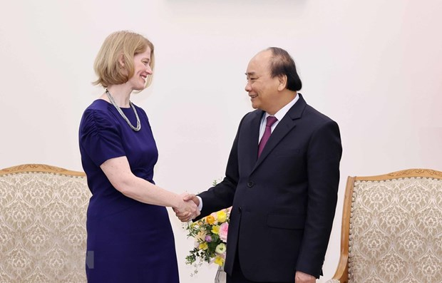 Premier vietnamita aboga por fomentar lazos multifaceticos con Nueva Zelanda hinh anh 1