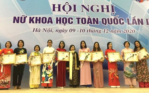 Vietnam honra aportes de mujeres intelectuales a avance socioeconomico hinh anh 1