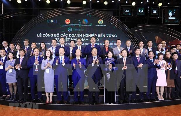 Anuncian en Vietnam lista de 100 mejores empresas sostenibles en 2020 hinh anh 1