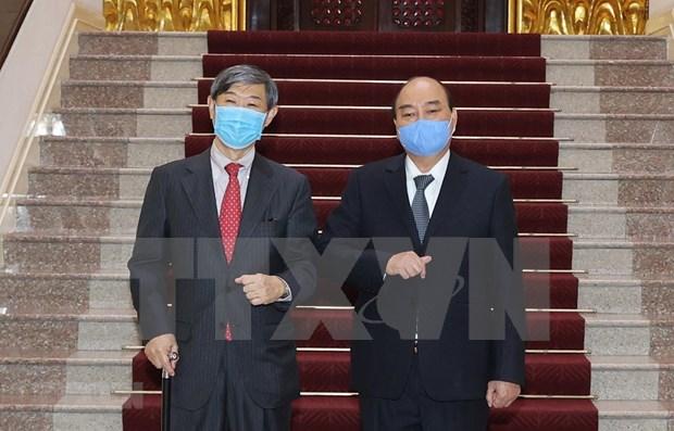 Primer ministro de Vietnam pide mas apoyo de JICA en el desarrollo nacional hinh anh 1