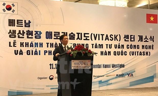 Inauguran Centro de consulta y soluciones tecnologicas Vietnam-Corea del Sur hinh anh 1