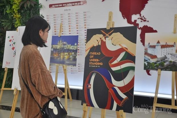 Exposicion divulga entre publico de Hanoi imagen del Grupo de Visegrado hinh anh 1
