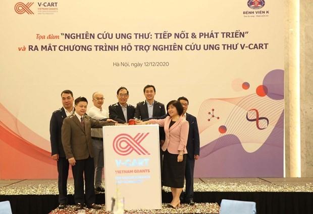 Lanzan Vietnam programa para respaldar tratamiento de cancer hinh anh 1