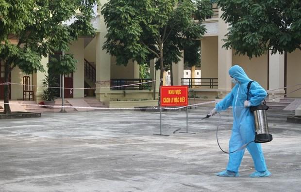 Reportan Vietnam dos nuevos casos importados del COVID-19 hinh anh 1