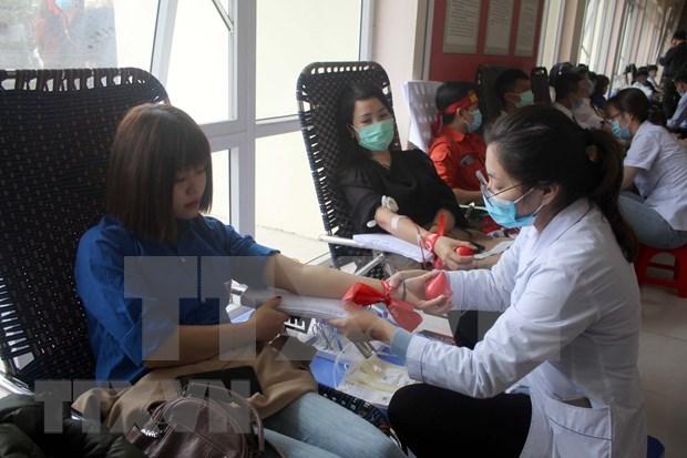Nutrida participacion en donacion de sangre en provincia vietnamita hinh anh 1