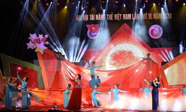 Celebran Congreso Nacional de Talentos Jovenes de Vietnam hinh anh 1