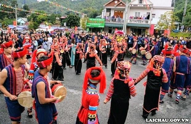Hanoi se animara con los colores montanosos de provincia de Lai Chau hinh anh 1