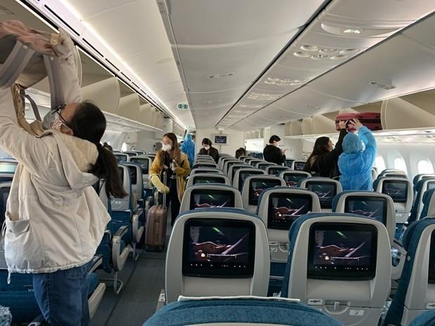 Autoridades de la aviacion de Vietnam multaran a pasajeros sin mascarillas en los vuelos hinh anh 1