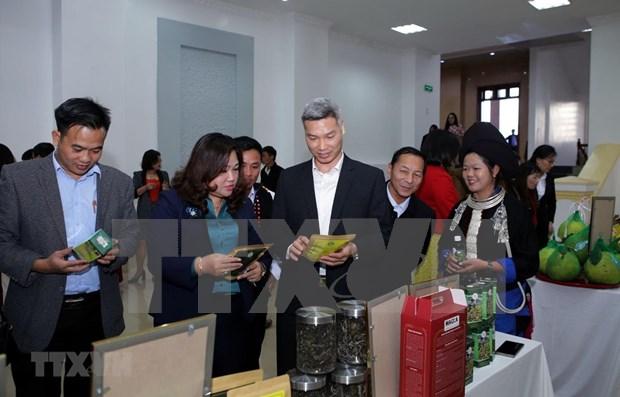 Promoveran los valores culturales unicos de Lai Chau en Hanoi hinh anh 1