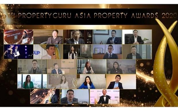 Vietnam gana tres premios inmobiliarios de Asia hinh anh 1