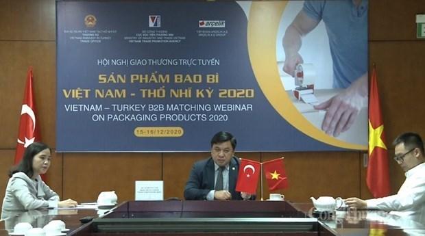 Exportadores vietnamitas de embalaje buscan acceso a mercado de Turquia hinh anh 1