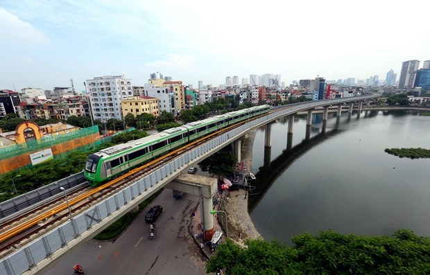 Otorgan certificacion de seguridad a linea ferroviaria Cat Linh-Ha Dong en Hanoi hinh anh 1