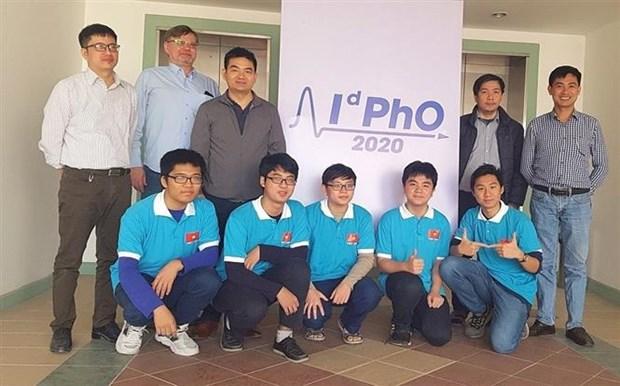 Vietnam gana medallas en Olimpiada Internacional de Fisica 2020 hinh anh 1