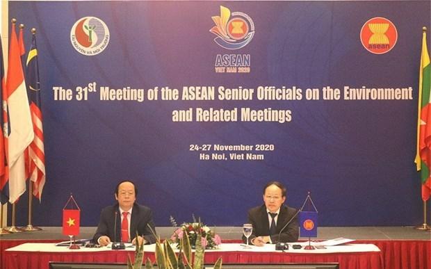 ASEAN por fomentar cooperacion ambiental hinh anh 1