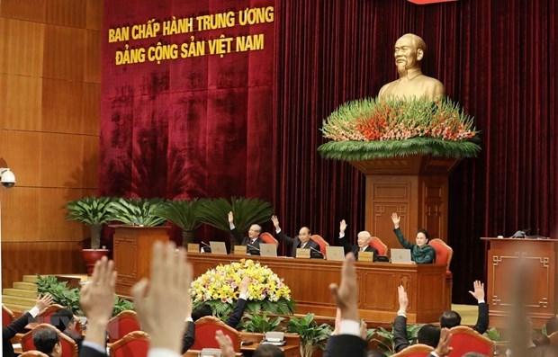 Comite Central del PCV cumple todos los contenidos de la agenda de su XIV pleno hinh anh 1
