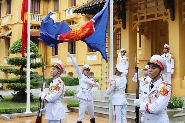 Celebran 25 anos de incorporacion de Vietnam a ASEAN hinh anh 1