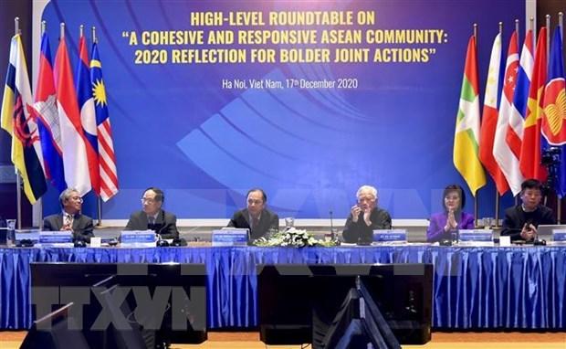 ASEAN consolida papel central por la paz, seguridad y el desarrollo sostenible en region hinh anh 1