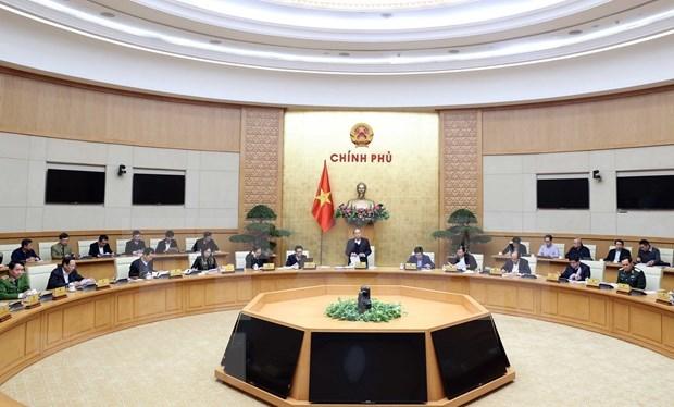 Primer proyecto de resolucion del gobierno vietnamita establece importantes tareas para 2021 hinh anh 1