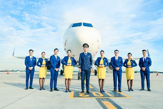 Vietravel Airlines anuncia uniforme y simbolo de aerolinea hinh anh 1