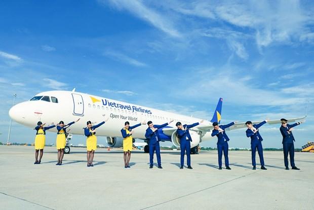 Vietravel Airlines anuncia uniforme y simbolo de aerolinea hinh anh 2