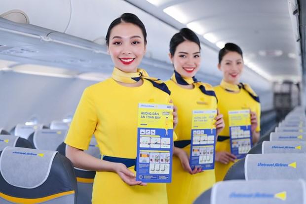Vietravel Airlines anuncia uniforme y simbolo de aerolinea hinh anh 3