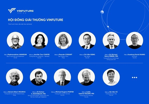Presenta Vingroup primer premio cientifico internacional fundado por vietnamitas hinh anh 2