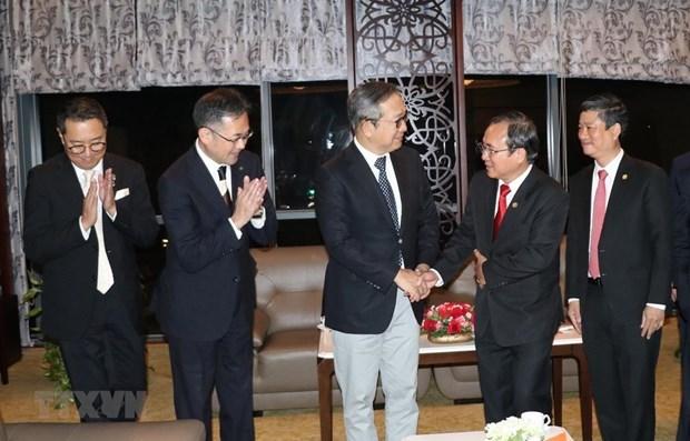 Japon dispuesto a respaldar grandes proyectos de transporte en provincia vietnamita hinh anh 1