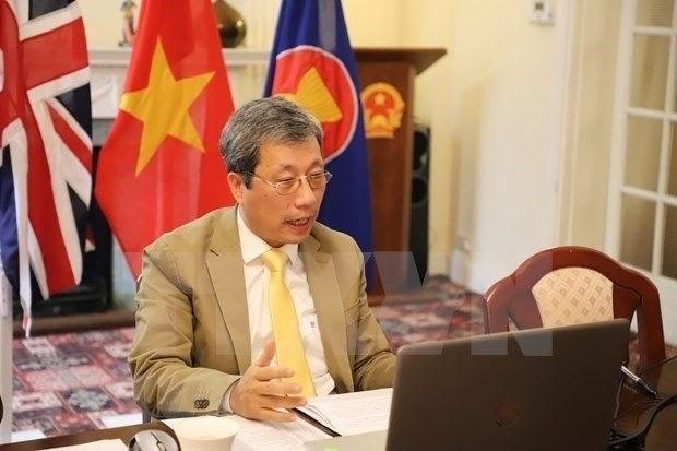 Fundan la sociedad de intelectuales vietnamitas en Reino Unido hinh anh 1