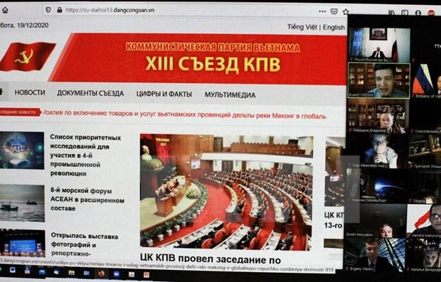 En Rusia resaltan importancia del venidero Congreso Nacional del Partido Comunista de Vietnam hinh anh 1
