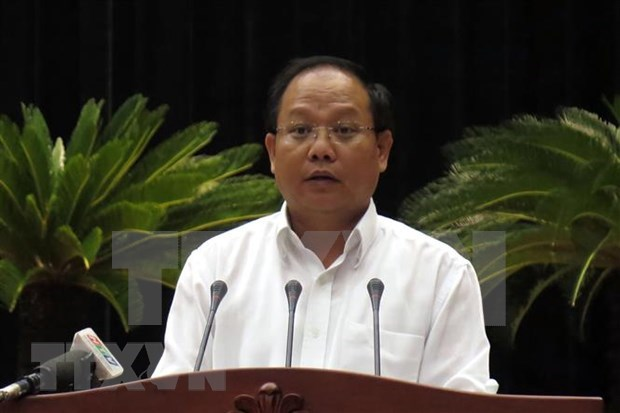 Suspenden del trabajo por tres meses a exfuncionario de Ciudad Ho Chi Minh hinh anh 1
