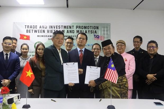 Impulsan Vietnam y Malasia cooperacion empresarial hinh anh 1