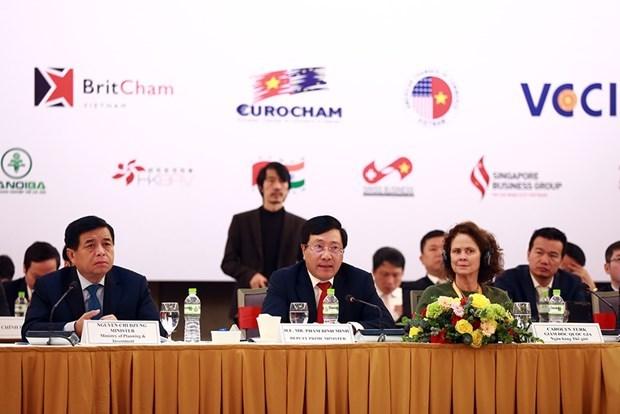 Efectuan Foro Empresarial de Vietnam 2020 hinh anh 1