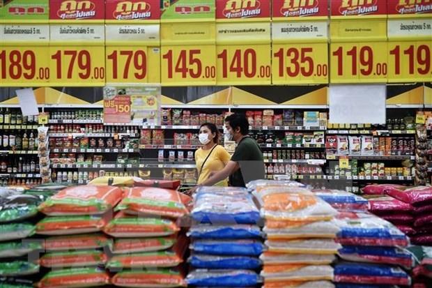 Exportaciones de arroz tailandes tocan fondo en 20 anos hinh anh 1