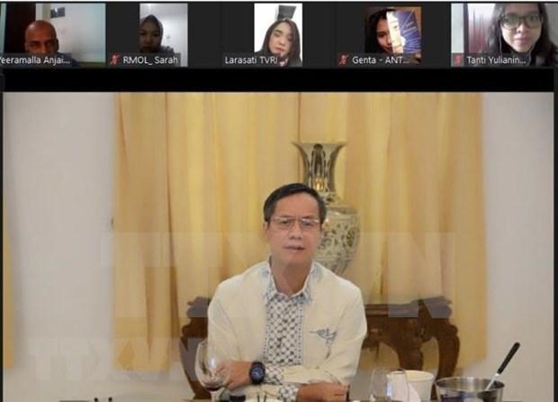 Refuerzan cooperacion integral entre Vietnam e Indonesia hinh anh 1