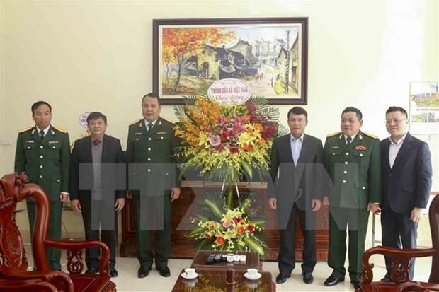 VNA y Division militar promueven relacion de hermandad hinh anh 1
