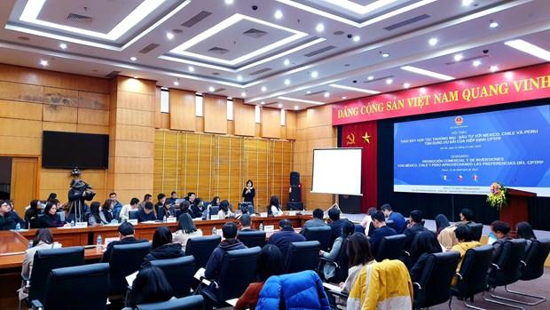 Vietnam promueve cooperacion comercial con paises latinoamericanos del CPTPP hinh anh 1