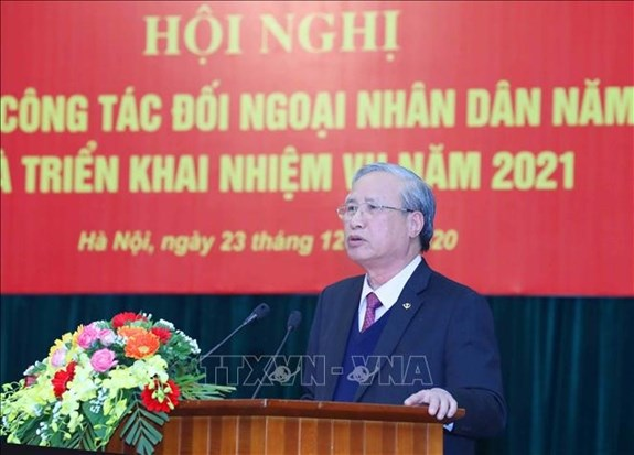 Dirigente partidista insta a renovar actividades de diplomacia popular hinh anh 1