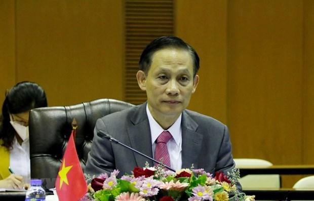 Efectuan implementacion efectiva de documentos sobre demarcacion fronteriza entre Vietnam y Camboya hinh anh 1