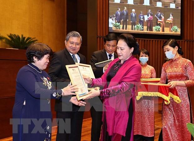 Resaltan exito de Asamblea Nacional de Vietnam en cargo de presidente de AIPA hinh anh 2