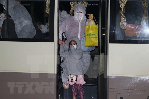 Repatrian a casi 250 vietnamitas desde Israel y Oman en medio de pandemia hinh anh 1