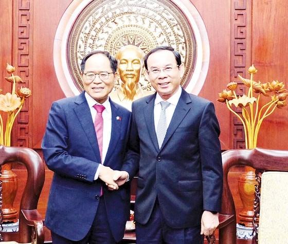 Ciudad Ho Chi Minh y Corea del Sur cooperan en transformacion digital hinh anh 1