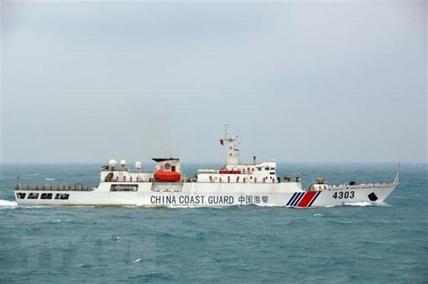 Vietnam y China realizan patrullaje mixto en el golfo de Tonkin hinh anh 2