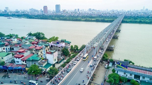 Hanoi planea construir 10 nuevos puentes sobre el Rio Rojo hinh anh 1