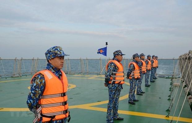 Vietnam y China realizan patrullaje mixto en el golfo de Tonkin hinh anh 1